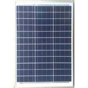 Painel Placa Célula 50w 12v/18v Energia Solar Inmetro
