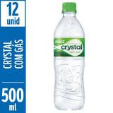Água Mineral Com Gás Crystal 500ml - 12 Unidades