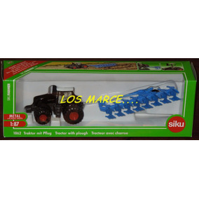 Siku 1862 1/87 Tractor Fend 939 With Plough Camion Agro