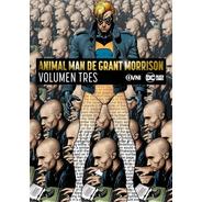Cómic, Dc, Animal Man De Grant Morrison Vol. 3. Ovni Press