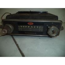 Antigo Rádio Carro Antigo Marca Sonomar/rádio Automotivo
