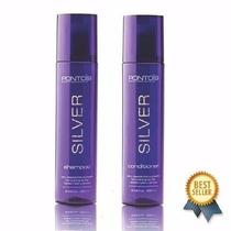 Ponto 9 Silver Matizador Shampoo + Condicionador Original
