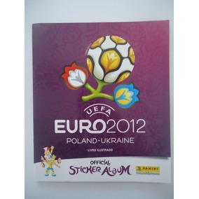 Álbum Euro 2012 Panini Completo Figurinhas Coladas