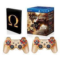 2 Controle + Jogo Ps3 Original Sony God Of War Ascencion