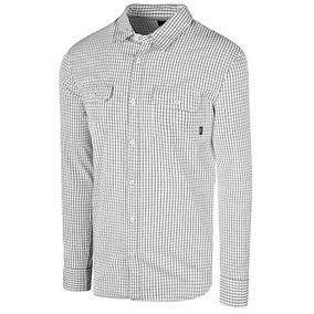Camisas Vans Palmer Vn-0a36heyb2 Blanco Negro Oi