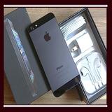 Iphone 5 16gb Con Caja Auriculares $ Estética Grado 8 De 10