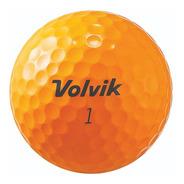 Pelotas Golf Volvik S3 Orange 12 Pz