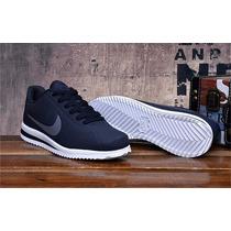 Zapatillas Nike Cortez Ultra Azul / Gris Original Stock