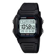 Reloj Hombre Casio W-800h-1av Negro Digital / Lhua Store