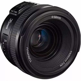 Lente Yongnuo Yn35mm F/2 - 35mm F/2 Autofoco Para Nikon