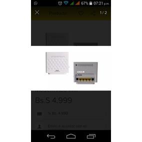 Modem Wifi4 En Uno Usados Como Nuevos Con Todos Sus Accesori