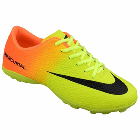 3404b2db52 Nike Mercuriral Cristiano Ronaldo Cr7 - Chuteiras Nike de Futsal ...