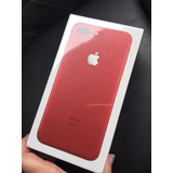 Iphone 7 Plus 128gb Rojo + Case + Protector De Pantalla