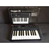 Teclado Controlador Midi M Audio Oxygen 25 Keyboard