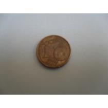 Moeda One Cent Euro 2003 Usada
