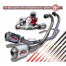 Escape Dm Competicion Honda Cg Titan 150 Ks/esd