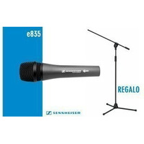Microfono Sennheiser E-835 + Pie + Pipeta + Cable Y Funda!
