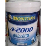Pintura Caucho Mate Av2000 Montana Interior/blanco/ Cuñete