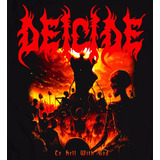 Polera Deicide To Hell With G Death Black Thrash Heavy Metal