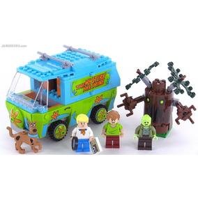 Máquina Misterio Scooby Doo 301 Pçs Mystery Lepin 75902