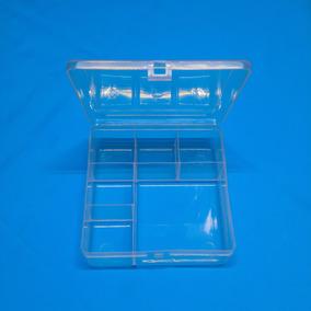 Kit 50 Caixa Organizadora + 50 Caixinha De Acrilico 4x4