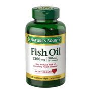 Ômega 3 Nature's Bounty Fish Oil 1200 Mg 120 Cps Original