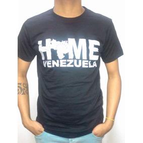 Franelas De Damas Y Caballero Motivo Venezuela