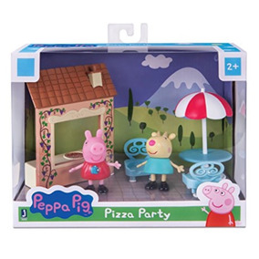 Peppa Pig E Gabriela Festa De Pizza - Original - P Entrega