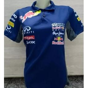 Camisa Camiseta Polo Redbull Red Bull Feminina Corrida 24e6a6b0276