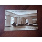 Postal 1940 Nueve De Julio Palacio Municipal Salon