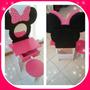 Tocador Set Maquillaje Minnie Mouse Infantil Fibrofacil