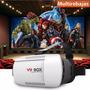 Gafas Realidad Virtual Vr Box 3d Androi Ios Juegos Cardboard