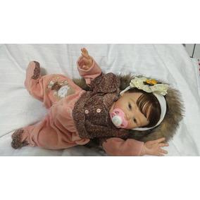 Bebê Reborn Corpo De Vinil Siliconado Molde Carmela