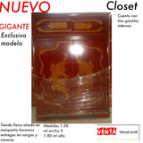 Closet Escaparate Armario Chifonier Gavetero