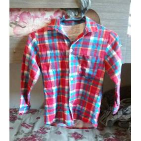 Camisa De Festa Junina,ótimo Estado, Tamanho: 3 A 4 Anos