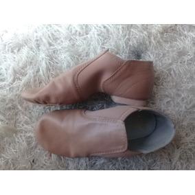 Zapatos Jazz Dance Class Niña Tono Caramel 20cm Super Oferta