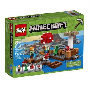 Lego Minecraft - A Ilha Dos Cogumelos 21129 - Lego