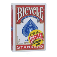 Naipes Poker Bycicle Stripper Deck Special Red - Impresionan