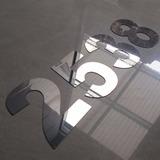 Letras Números Carteles De Acero Inoxidable 10cm Fabrica