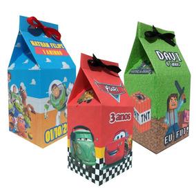 Kit C/ 50 Caixinhas Surpresa Caixa Leite (milk)personalizada