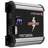 Fonte Automotiva Stetsom Infinite 120 Carregador De Bateria