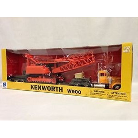 Trailer Kenworth W900 Con Grua Escala 1:32
