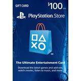 Tarjeta Psn 100 Us$ Usa - Ps3/ Ps4/ Ps Vita Digital
