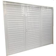 Portón De Abrir Aluminio Reforzado Perfil 36 240x200