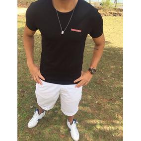 Camisa Camiseta Prada Ea7 Lv Armani Dolce Gabanna Gucci Ck