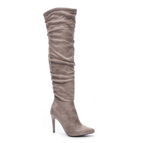 Zapato Dama Bota Stunning Gris B&b Chinese Laundry