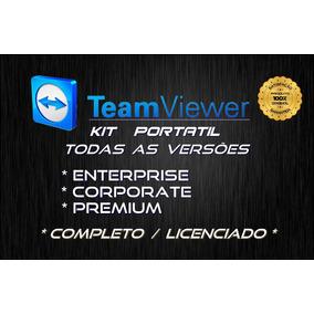 Kit Programa Teamviewer V.13 Portátil Completo / Licenciado