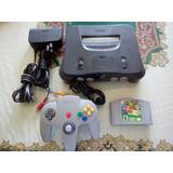Consola Nintendo 64 Con Super Mario 64 N64