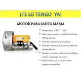 Motores Eléctrico Para Puertas Enrollables, Santa Maria