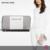 Michael Kors Carterita Jetset Tech Tricolor - Original Nueva